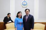 Сайд Б.Батзориг:Монгол, Вьетнам 2 улсын хооронд махны экспортыг нэмэгдүүлэхийн тулд  шууд нислэгтэй болох асуудлыг судална