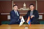 Монгол Улсад хөдөө аж ахуй, газар тариалангийн гаралтай хүнсний бүтээгдэхүүний бөөний худалдааны төв байгуулах санамж бичгийг үзэглэлээ
